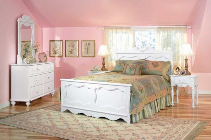 El color en las habitaciones for Cuarto para las 7