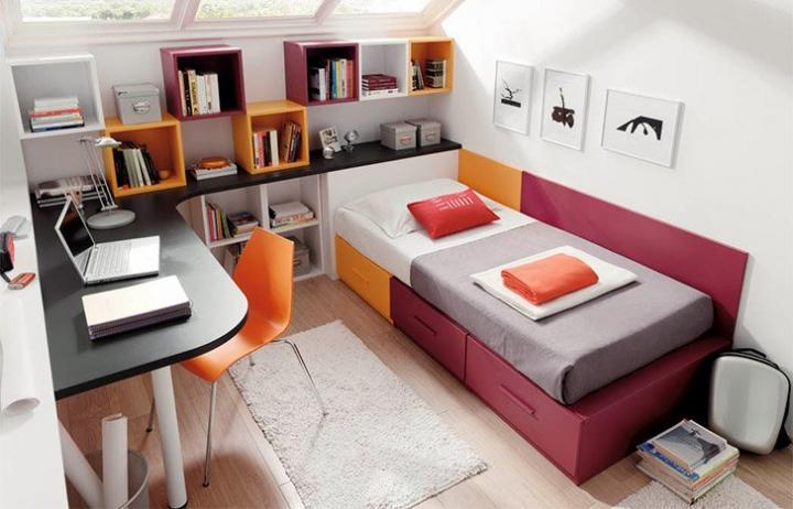 Decoracion de habitaciones for Cuartos para universitarios