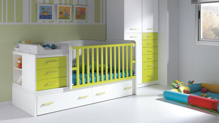 Habitaciones infantiles y de beb s for Cuanto cuesta pintar una habitacion