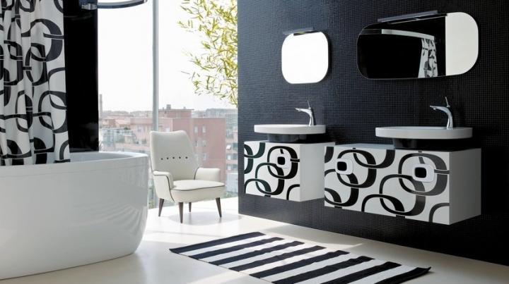 Estilos decorativos - Cuartos de banos pequenos modernos ...