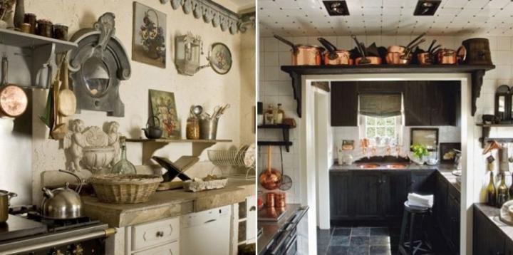 Decoracion de cocinas for Adornos para casas rusticas