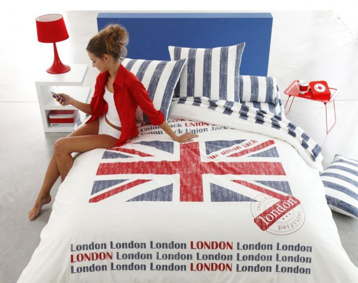 Funda nórdica de la Union Jack