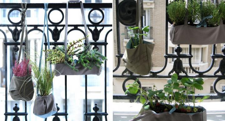 Macetas originales para terrazas peque as for Macetas terraza diseno