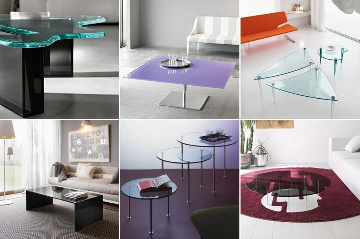 Mesas - Mesas modernas de cristal ...