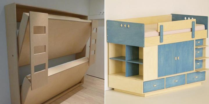 Habitaciones infantiles y de beb s for Habitaciones compactas