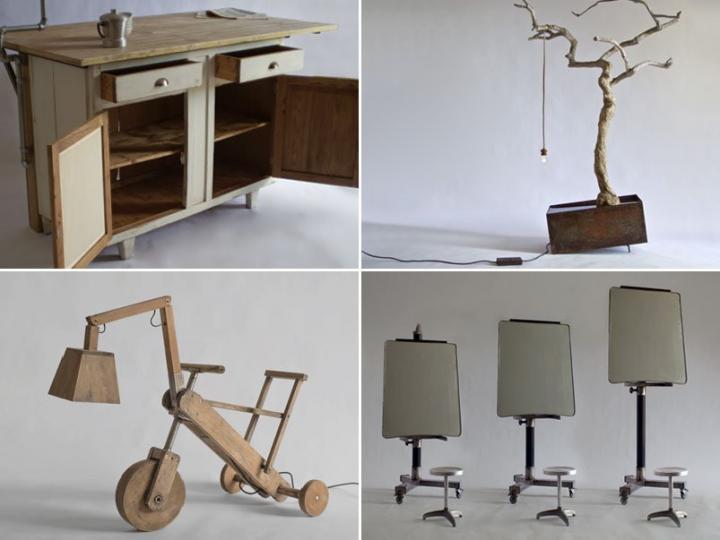 Muebles de estilo vintage de la firma manoteca - Muebles estilo neoclasico ...