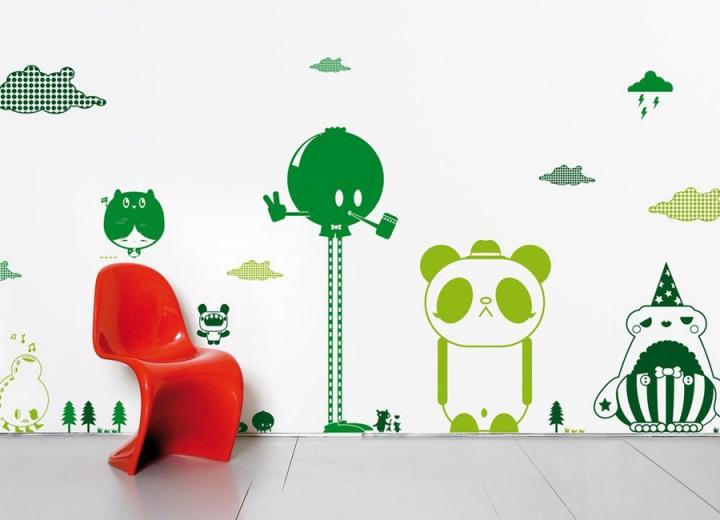 Stickers para habitaciones infantiles - Vinilos para habitaciones infantiles ...