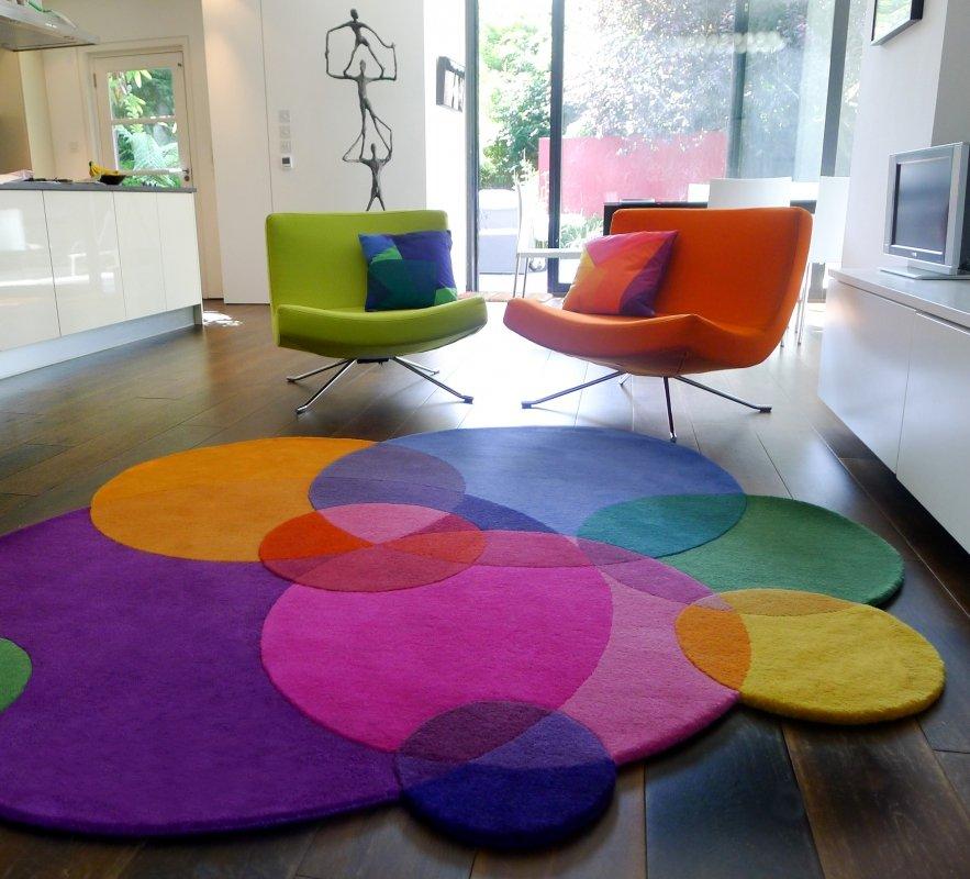 Alfombras coloridas de formas innovadoras de sonya winner - Tappeti colorati ...