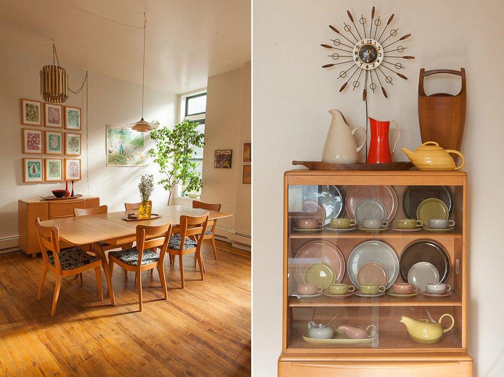 Apartamento de estilo contempor neo y vintage for Decoracion vintage apartamentos pequenos