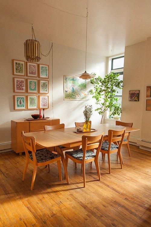 Apartamento de estilo contempor neo y vintage for Casas decoradas estilo contemporaneo