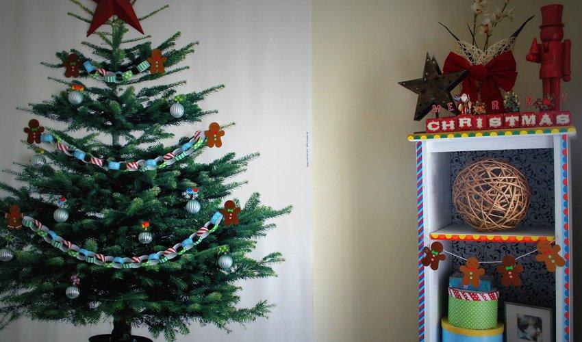 Rbol de navidad para las casas m s peque as - Arbol de navidad adornado ...