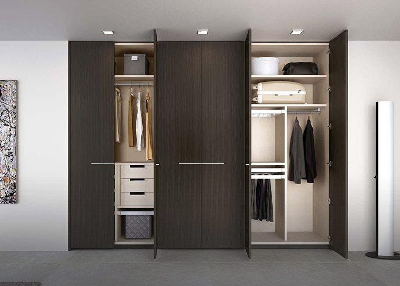 Vestidor de dise o gama decor for Armarios modernos de madera