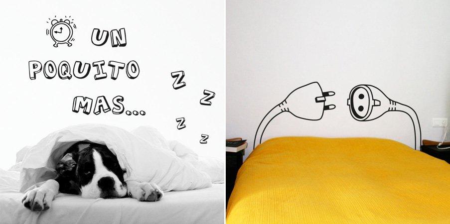 Cabeceros de cama en vinilo for Cabeceros de cama originales