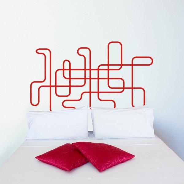 Cabeceros de cama en vinilo for Vinilo cabecero cama
