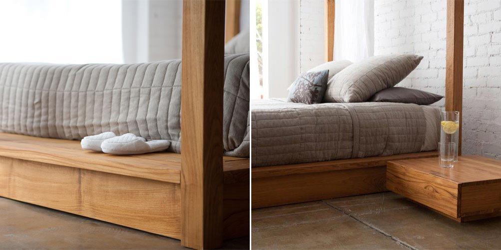 Camas con dosel de estilo moderno - Dosel para cama ...