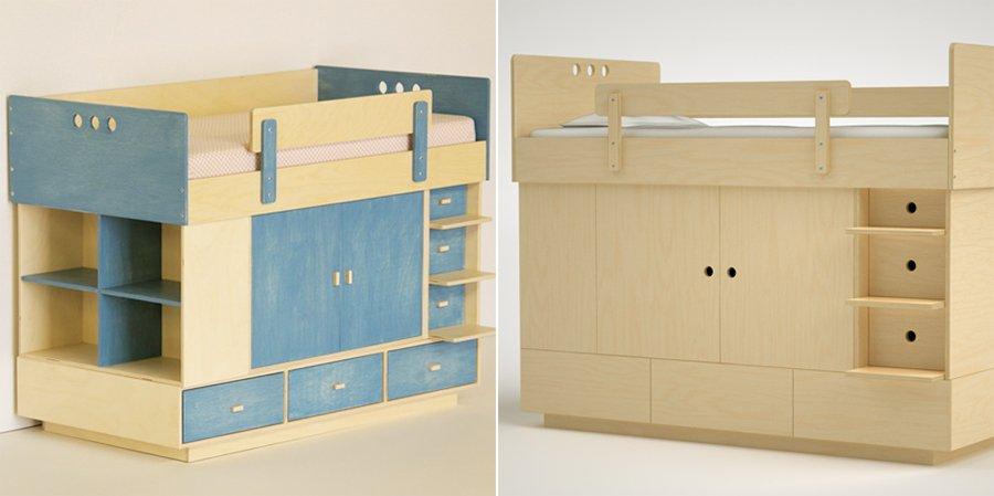Litera plegable para habitaciones peque as - Habitacion con literas para ninos ...