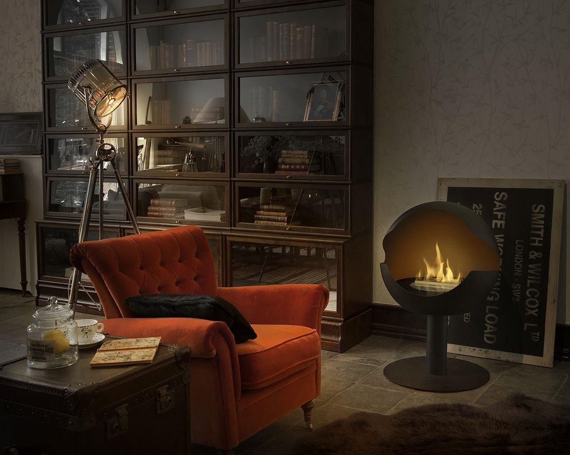 chimeneas de bioetanol de la firma vauni chimenea de. Black Bedroom Furniture Sets. Home Design Ideas