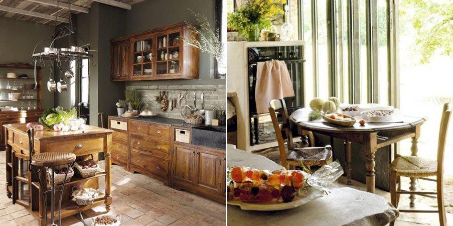 Decoraci n de cocinas r sticas - Fotos de cocinas rusticas pequenas ...