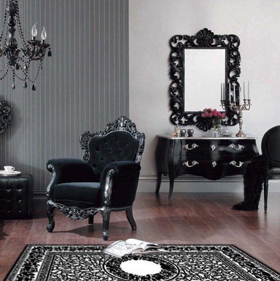 im genes de salones de estilo barroco claves para un sal n de estilo barroco. Black Bedroom Furniture Sets. Home Design Ideas