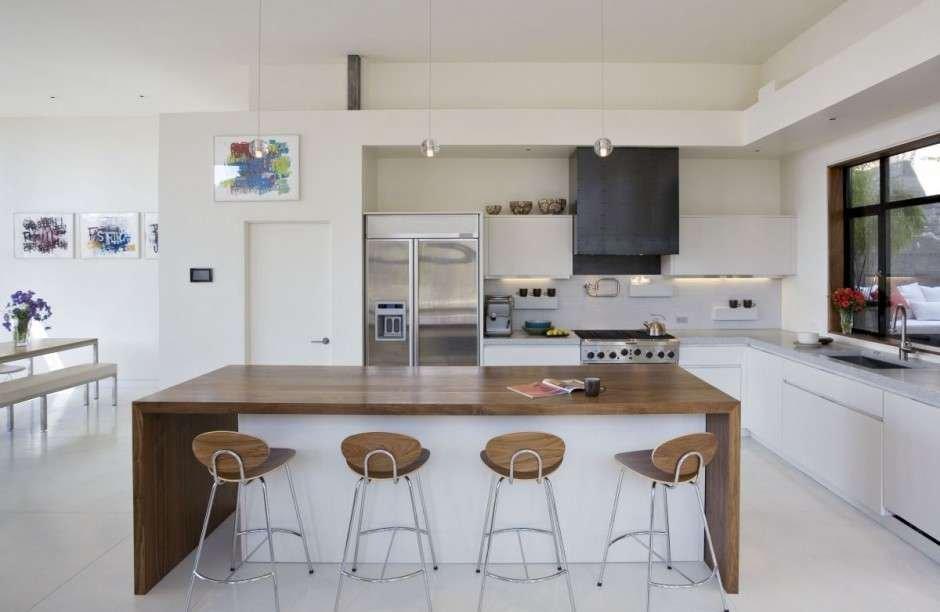 Cocinas abiertas for Modelo de cocina abierta en el comedor