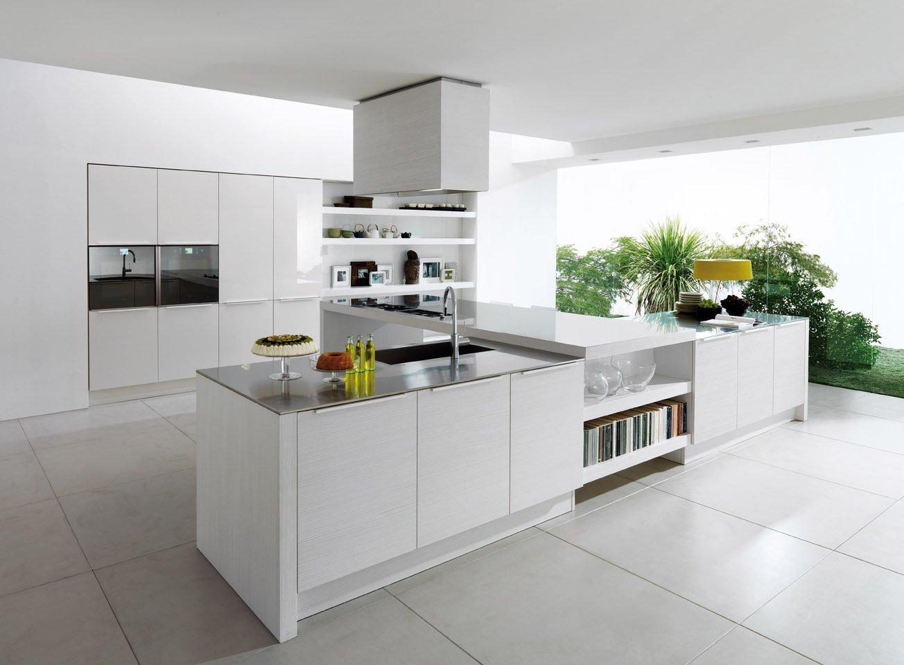 Cocinas blancas for Cocinas blancas con isla