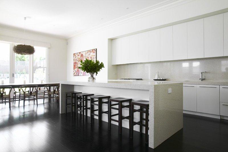 cocina con toques minimalistas - Cocina Minimalista