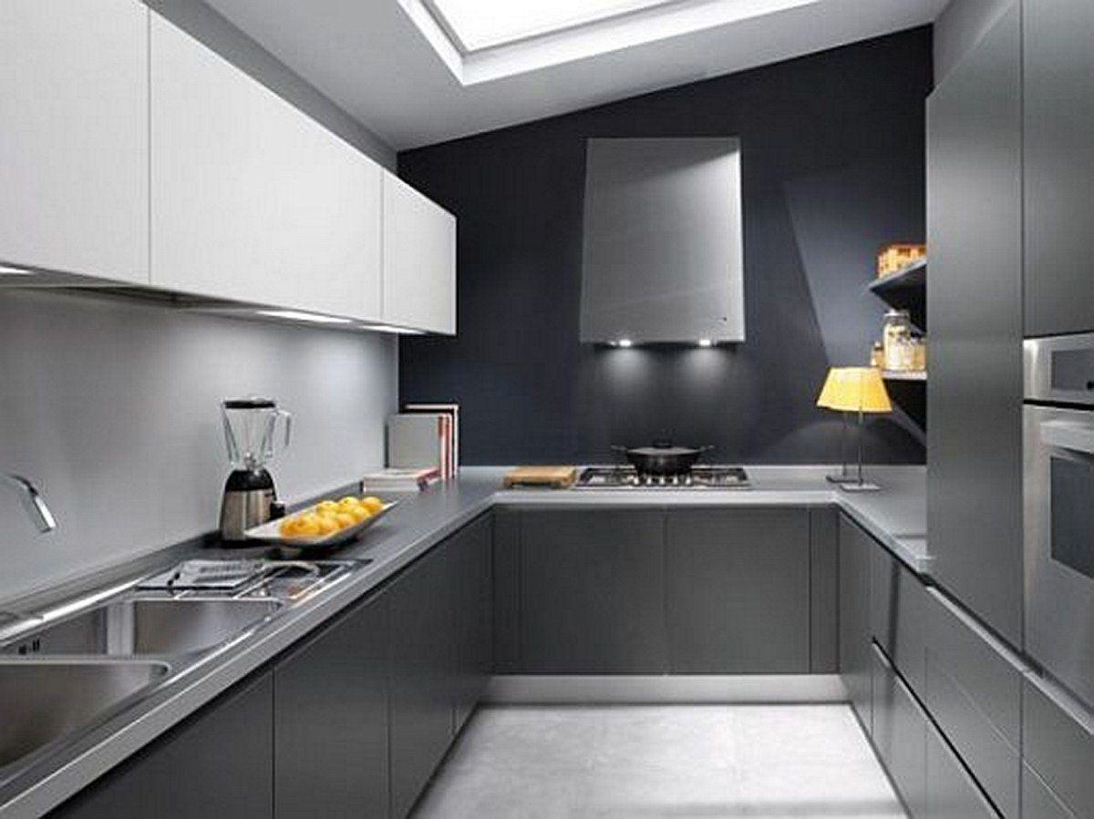 Cocinas Peque As Y Modernas Bricodecoracion Com # Muebles Poco Espacio