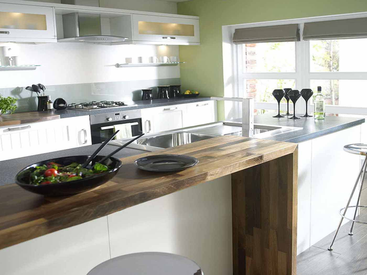 kitchen ideas ikea cocinas peque 241 as y modernas bricodecoracion 13353