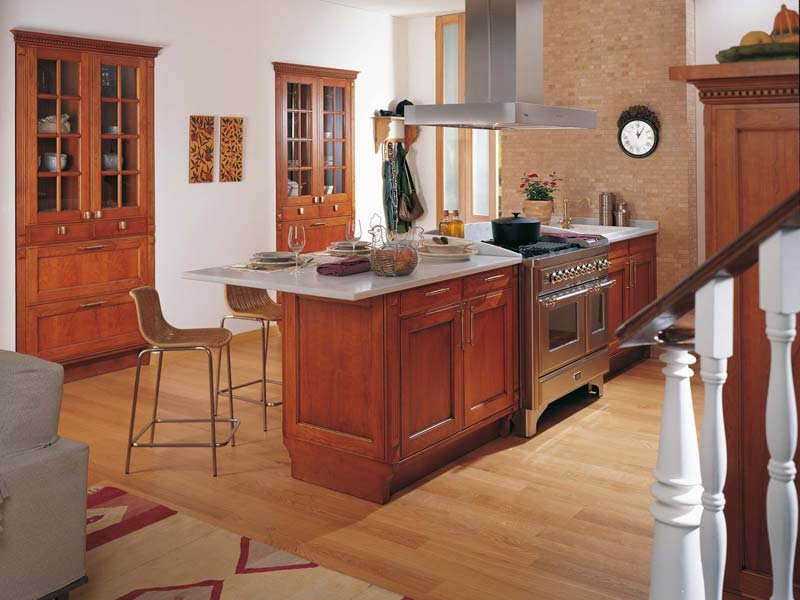 Muebles de cocina gama decor - Muebles cocina rusticos madera ...