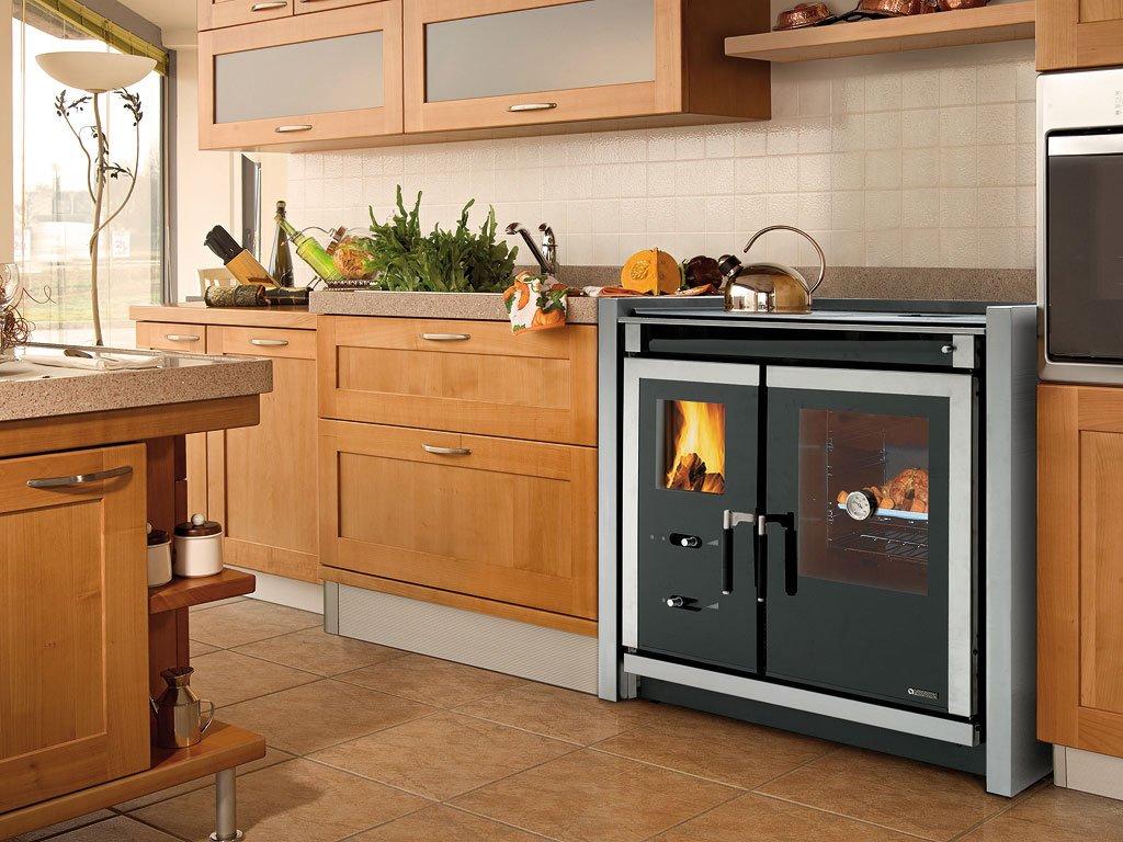 Cocinas de le a de estilo r stico cocinas de le a de la for Cocinas economicas a gas