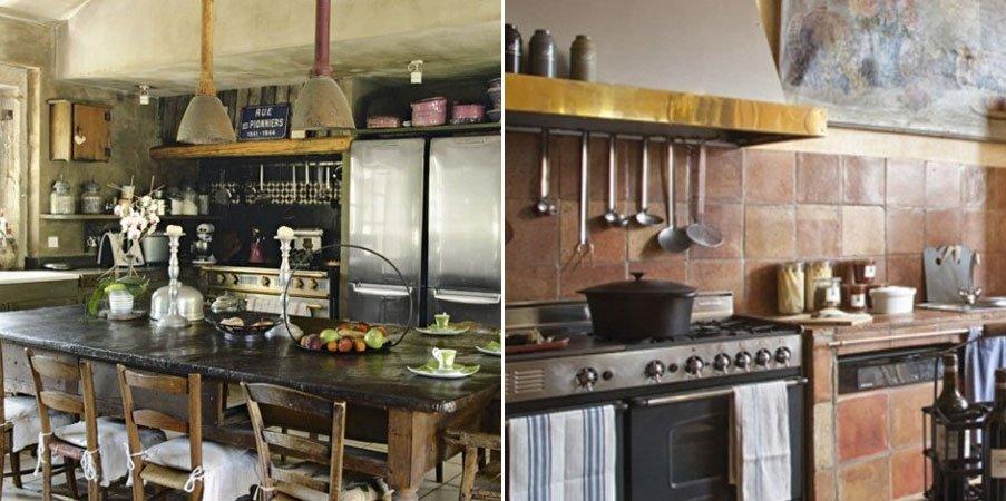 Decoraci n de cocinas r sticas for Como hacer una terraza rustica