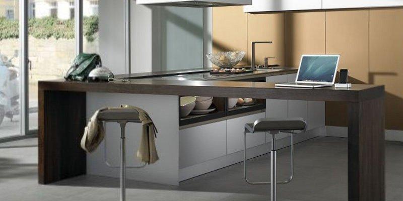 Cocinas modernas con muebles sin tiradores de siematic - Cocinas modernas minimalistas ...