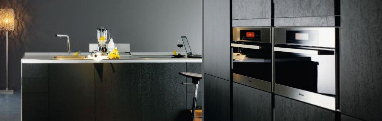 Cocinas modernas con muebles sin tiradores de siematic - Tiradores para cocinas ...