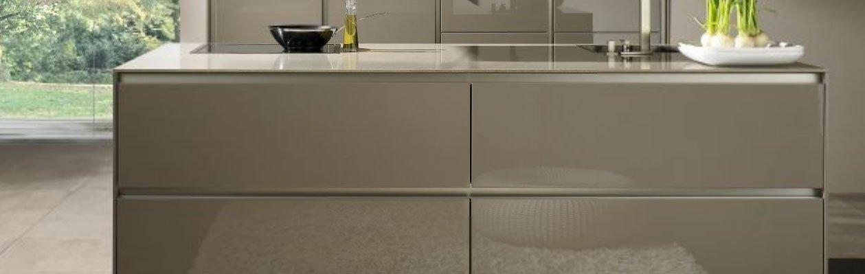 Cocinas modernas con muebles sin tiradores de siematic - Cocina sin tiradores ...