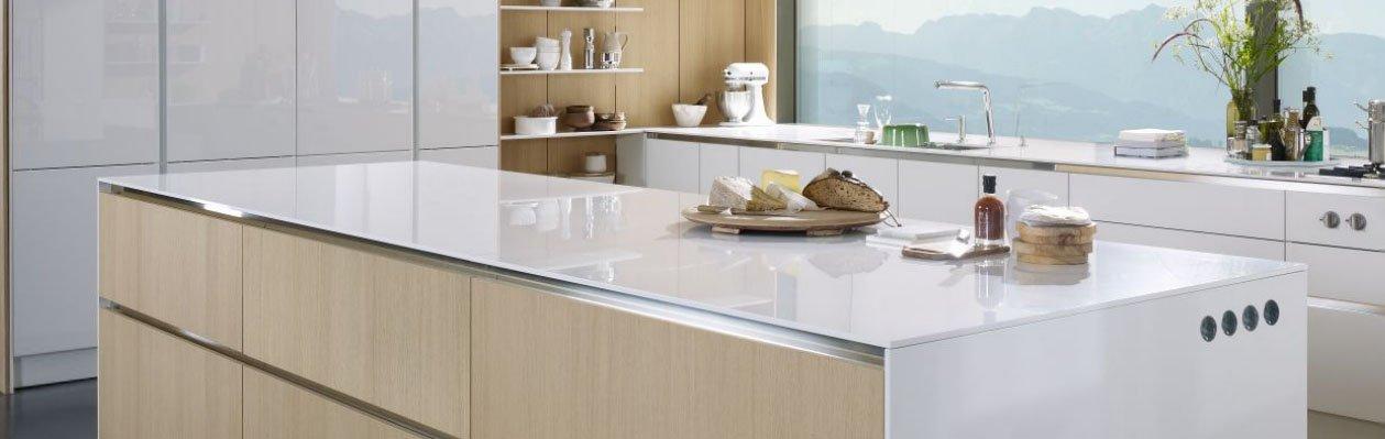 Cocinas modernas con muebles sin tiradores de siematic for Cocinas sin tiradores