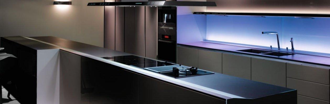 Cocinas modernas con muebles sin tiradores de siematic for Tiradores muebles cocina