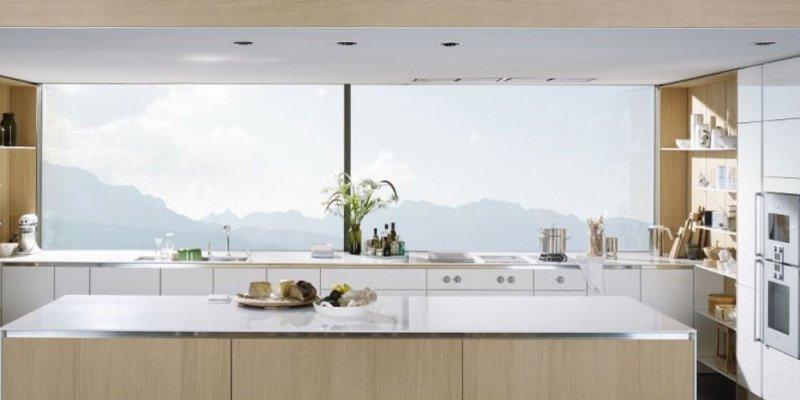 Cocinas modernas con muebles sin tiradores de SieMatic ...