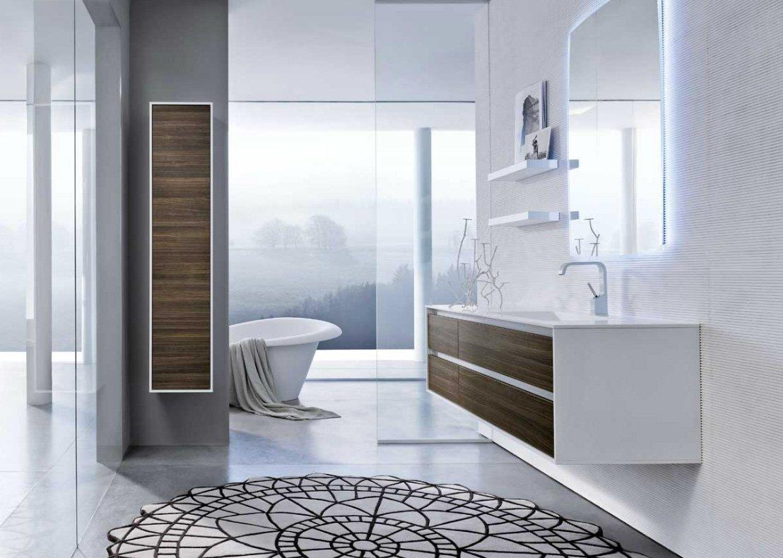 Colección de baños Summit de Mastella Design. BricoDecoracion.com