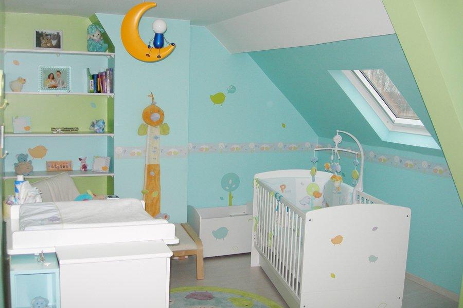 El color en las habitaciones ii - Ideas decoracion habitacion bebe ...