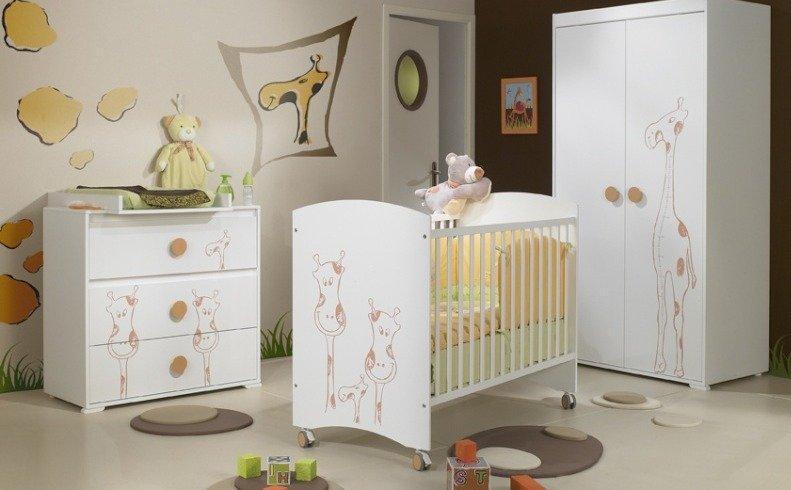 C mo preparar la habitaci n para el beb - Color pared habitacion bebe ...