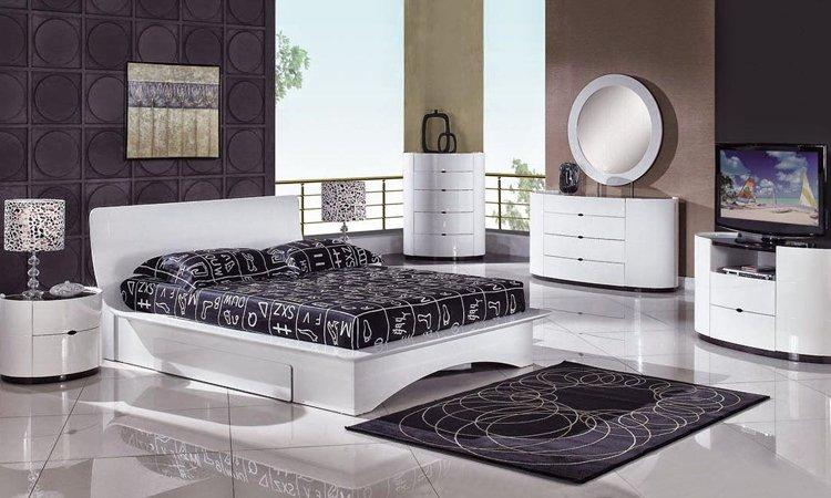 Consejos para una decoraci n de interiores en blanco y for Cuarto negro y rojo