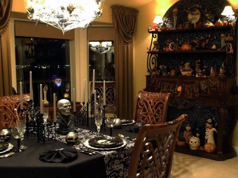 Consejos para la decoraci n de halloween - Decoracion casa halloween ...
