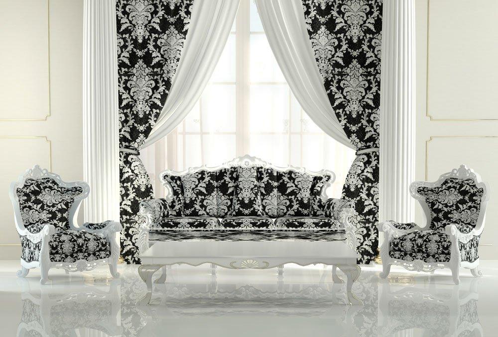 claves para un sal n de estilo barroco. Black Bedroom Furniture Sets. Home Design Ideas