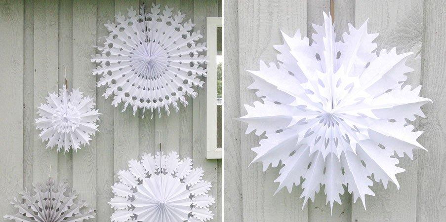 Decoraciones navide as de papel de seda - Como hacer decoraciones navidenas ...