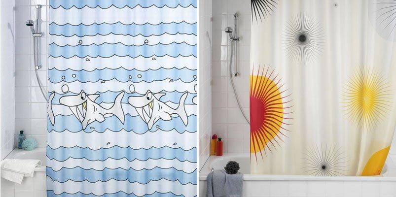 Cortinas originales para transformar el cuarto de baño ...