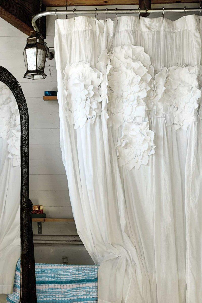Cortinas de ducha para un ba o de estilo rom ntico for Ideas para un bano romantico