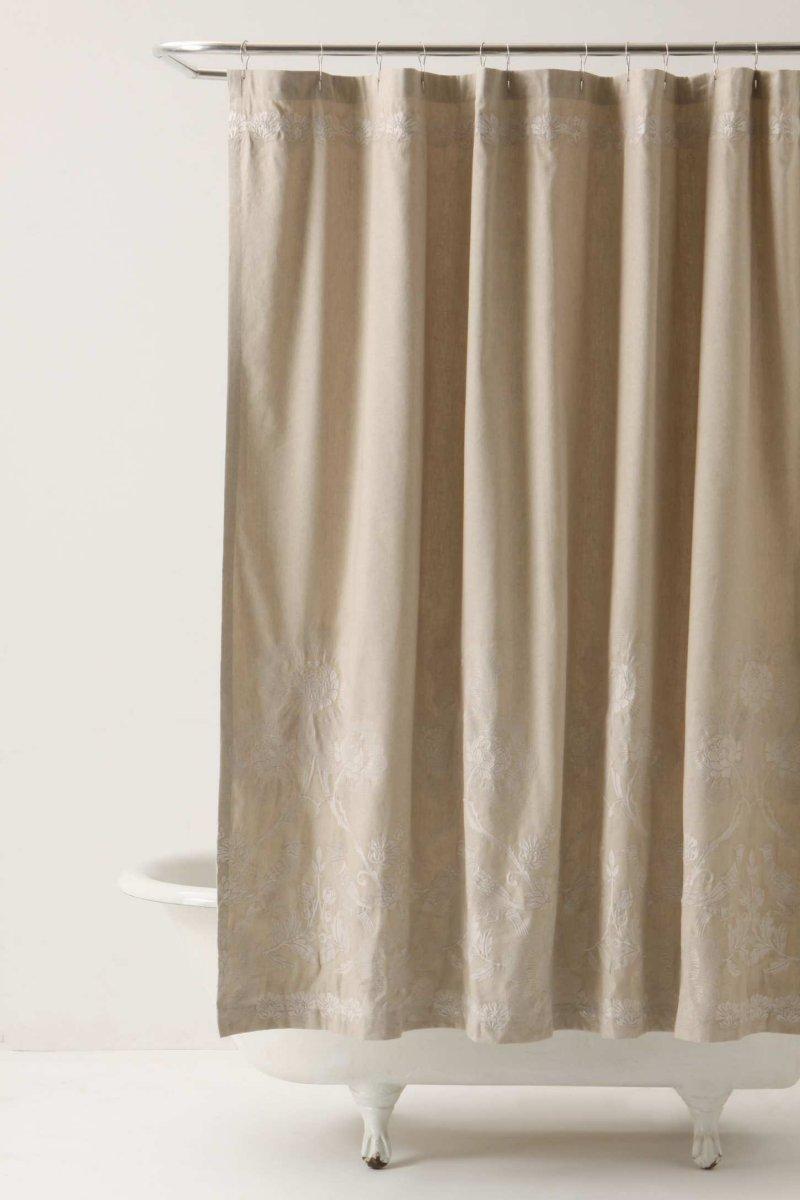 Cortinas de ducha para un cuarto de ba o rom ntico for Accesorios para cortinas de bano