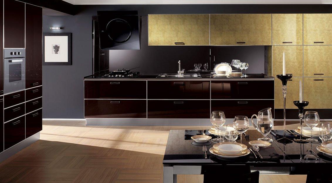 Crystal cocinas modernas de la firma scavolini for Tecnicas modernas de cocina