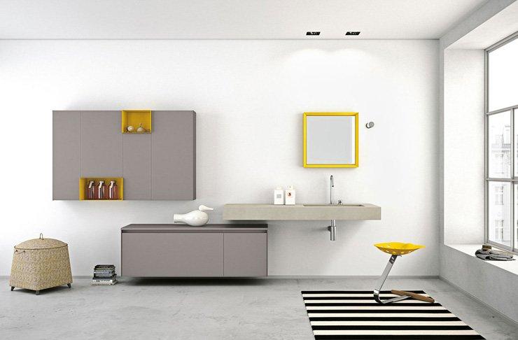 Muebles De Baño Estilo Minimalista:Aria Bathroom Design