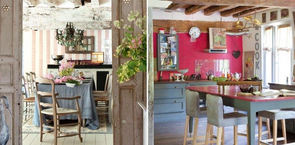 Inspiraci n de una casa de campo de estilo cl sico for Casa de campo de estilo ingles decoracion